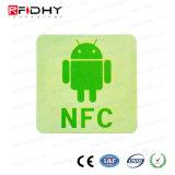 社会的な媒体のための携帯電話13.56 MHz RFID NFCのステッカー