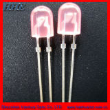 Oval 5mm LED de color rosa carne certificada RoHS (HH-5S0CFR506)