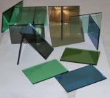 3mm-12m m claros/cubrieron/el vidrio coloreado reflexivo del edificio del flotador (JINBO)