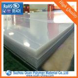 Hoja plástica rígida clara estupenda del PVC para el rectángulo plegable