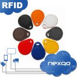 Preiswerter klassischer 1K RFID intelligenter Schlüssel Fob des Großverkauf-MIFARE