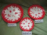 De Plaat van Kerstmis, de Producten van Kerstmis, de Decoratie van Kerstmis
