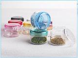 3GプラスチックPSの装飾的な包装のための透過サンプルクリームの瓶