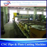 Type machine de découpage de pipe de portique et de plaque de plasma
