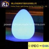 바 사용 다색 장식적인 계란 빛 LED 테이블 램프