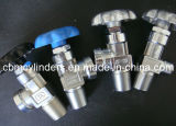 Válvulas de cobre amarillo cromadas del cilindro (SERIES)