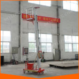 Aluminium Single Person Lift Hydraulic Ladder