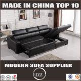 Moderne lederne Sofa-Bett-Möbel