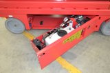 Zs0607 elevadores de tijera hidráulico de plataforma de trabajo aéreas