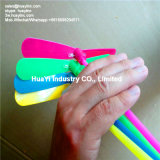 Игрушка Бамбук-Dragonfly зарева логоса отпечатка пластичная