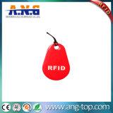 Cristal RFID resistente material revestido a epóxi Etiqueta de gelatina para gerenciamento