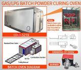 صناعيّة مسحوق طلية يعالج فرن (غال /LPG/Diesel)