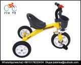 2016 Driewielers de Met drie wielen van de Baby van de Jonge geitjes van het Frame van het Staal van het Speelgoed van China, de Driewieler van de Baby