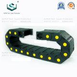 Serie 80 máquina CNC flexible de nylon de plástico envuelto de la energía de la cadena de cable de arrastre de rodillos