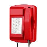 ПогодостойкmNs телефон VoIP водоустойчивый напольный для Railway шахт