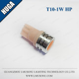 T10 1Wの高い発電LED車の球根自動内部ランプDC 12V