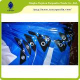 Tela incatramata impermeabile del PE di alta qualità per i coperchi Tpt008