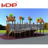Remise à bon marché de la maternelle Les enfants de l'équipement de terrain de jeux de plein air en bois jouets en plastique
