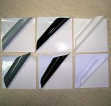 Collant adhésif clair de vinyle de qualité