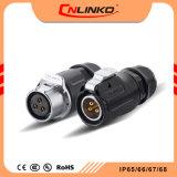 Bucim Cnlinko à prova de fornecedor de plugue elétrico do conector de alimentação de plástico bom preço para LED