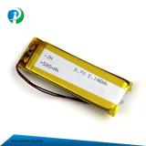 3.7V 580mAh Li-ion de alta calidad Batería de polímero