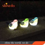 Novo design do Bird Shape Luz decorativa Jardim Solar, Lâmpada de árvore Solar