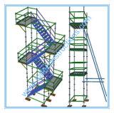 De Ce Goedgekeurde Rolling Steiger van de Toren voor Decoratie