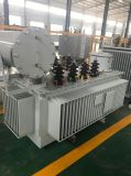 Transformatoren in drie stadia van de Elektrische centrale van de Distributie van de Hoogspanning de Elektronische
