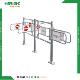 Système de contrôle d'accès tournant en acier inoxydable