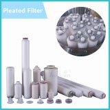 Los núcleos de 20 pulgadas multi 10 PP Vela plisada plisada PP micras/filtro de cartucho de filtro de cartucho de filtro de acero inoxidable de la vivienda