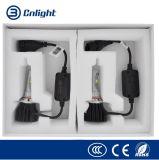 Kit brillante estupendo G H1 H3 H4 H7 H11 9005 de la conversión de la luz del coche del bulbo de la linterna de la fuente LED de la fábrica de Cnlight CREE 9006 9012 adentro