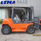 Automatischer Dieselgabelstapler der Ltma Marken-6t mit vorderen Verdoppelungreifen