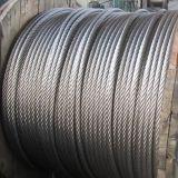 Galvanisierte StahlDehnfestigkeit 1770MPa des drahtseil-6X12+7FC