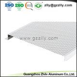 Ecológico H tira en forma de placa del techo de chapa de aluminio con ISO9001