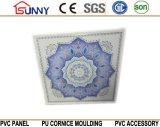 Comitato di parete del Mattonella-PVC del soffitto del PVC 600mmx600mm