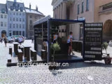 Het gewijzigde Huis van de Verschepende Container/de de PrefabWinkel van de Container/Staaf van de Container