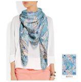 Motif de plume foulard