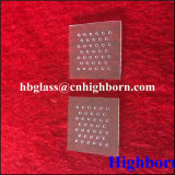 Fornitore quadrato di vendita superiore della parte di vetro di quarzo