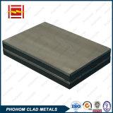 주문을 받아서 만들어진 스테인리스 또는 구리 또는 알루미늄 /Titanium /Nickel 클래딩 격판덮개