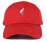 Gorra de béisbol de encargo del algodón del bordado de la insignia del OEM