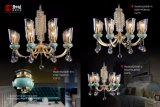 2017.10 Design le plus récent Hot Sale lustre métallique lumière