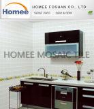 Dekoration-materielle beste graue Untergrundbahn-Fliese-Mosaik-Glaswand-Fliese