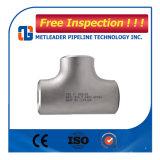 高品質のステンレス鋼のバットによって溶接されるティー