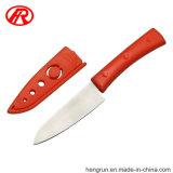 Cocina de acero inoxidable de recortar la cuchilla de frutas