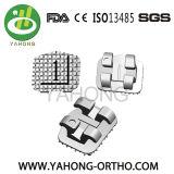 Parentesi ortodontica del metallo dello strumento dentale