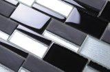 装飾的な12X12国際規格の小さい組合せの黒のモザイク・タイル