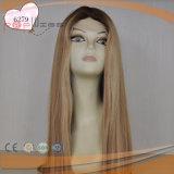 Longitud de hombro Virgen de la Seda Cabello peluca superior (PPG-L-01588)