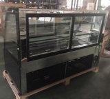 3 de lagen verdubbelen de het Gebogen Gebakje van het Glas/Harder van de Vertoning van de Bakkerij (ry880a-m2)