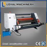 Rouleau de papier de refendage à haute vitesse automatique de la machine avec l'arbre de patinage