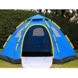 ナイロン4季節5-8人の携帯用おおい浜キャンプグループのテント